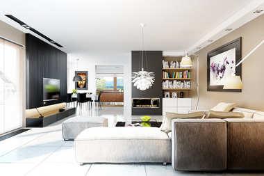WNĘTRZA INSPIRACJE – dom Liv 3 G2 – wygodnie i szykownie