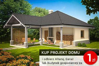 Promocja - odbierz garaż, altanę lub projekt ogrodzenia za 1 zł
