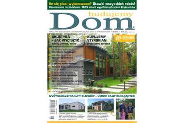 """Nasze projekty i porady w nowym numerze miesięcznika """"Budujemy dom"""""""