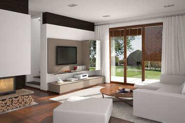 WNĘTRZA INSPIRACJE – dom Kajka G1 – klasyczna elegancja