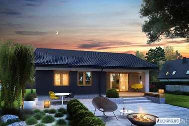 Tani w budowie dom w cenie mieszkania - poznajcie projekt Mini 3 z aranżacją wnętrza