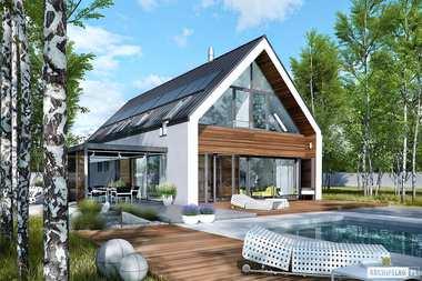 TOP 5 projektów domów z dużymi przeszkleniami