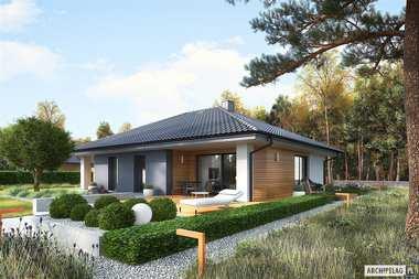 Projekty domów parterowych – hity naszej kolekcji