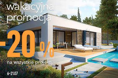 -20% na wszystkie projekty domów!