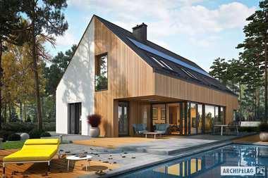 TOP 5 domów o powierzchni użytkowej powyżej 170 metrów kwadratowych.
