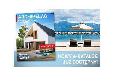Najpiękniejsze domy z tarasem – zobacz nowy e-katalog!