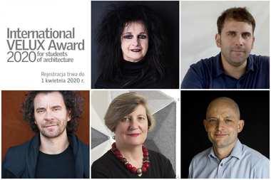 Architektoniczne sławy będą oceniać prace studentów w konkursie International VELUX Award