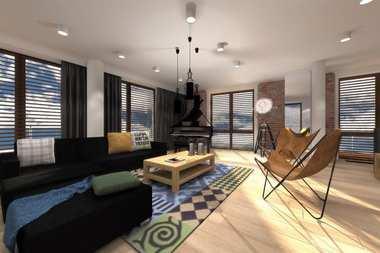 WNĘTRZA INSPIRACJE – Alberta G1 – loftowo i modernistycznie