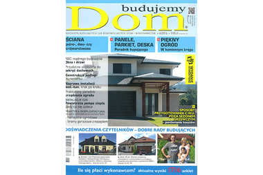 """Nasze projekty i porady w nowym numerze """"Budujemy Dom"""""""