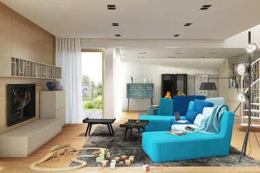 WNĘTRZA INSPIRACJE – dom Neo G1 ENERGO – efektownie i przytulnie