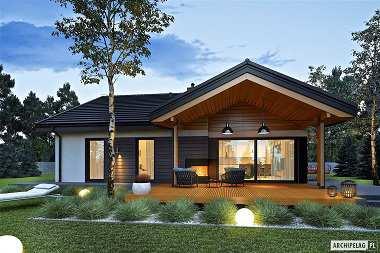 Projekty domów parterowych z czterema sypialniami