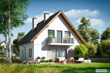 Daga – dom w cenie mieszkania, idealny dla rodziny 2+2