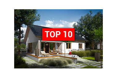 TOP 10 – najlepsze domy parterowe!