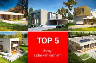 TOP 5 – domy z płaskim dachem