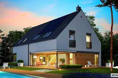 Dom otwarty na ogród – najlepsze projekty gotowe