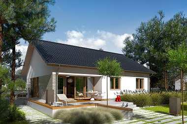 Najlepsze projekty domów dla rodziny 2+2