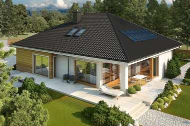 Projekty domów z dużą kotłownią na paliwo stałe