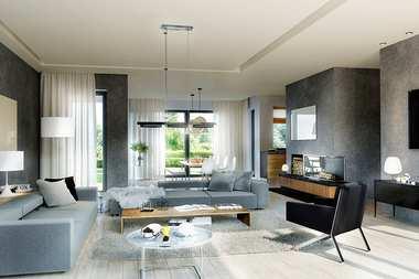 WNĘTRZA-INSPIRACJE – projekt domu Magnus II G2 – oddech, przestrzeń, relaks…