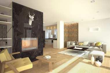 WNĘTRZA INSPIRACJE – dom EX 15 – pięknie, jasno, przestrzennie