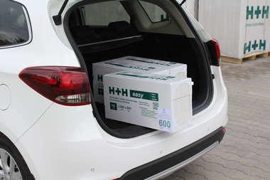 H+H easy – pakiet płytek z betonu komórkowego do wykończenia wnętrz domów i mieszkań