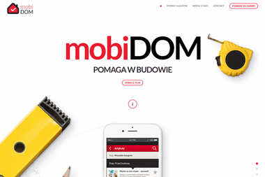 Aplikacja mobiDOM pomoże Ci w budowie - pobierz za darmo!