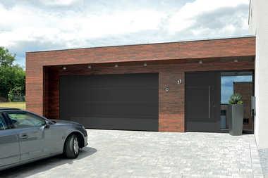 Bramy garażowe i drzwi wejściowe z dotacją Czyste Powietrze