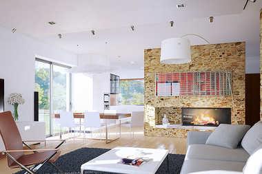 WNĘTRZA-INSPIRACJE – projekt Edgar II G2 ENERGO PLUS – dom pełen światła!