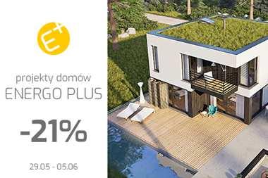 RABAT 21% na projekty domów ENERGO PLUS i Mini PLUS