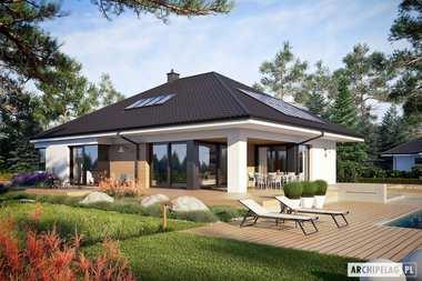 5 wspaniałych domów z poddaszem do adaptacji i garażem