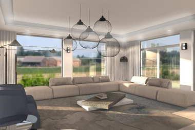 WNĘTRZA INSPIRACJE – dom Dionizy (mały) G2 – słonecznie i komfortowo