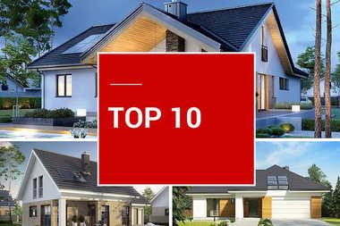 TOP 10 – najpiękniejsze domy nowoczesne z garażem!