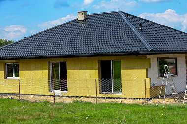 Ciepły dom z betonu komórkowego