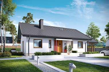 5 najczęściej wybieranych domów do 100 m2