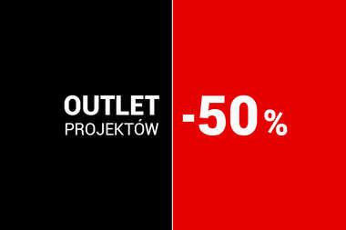 OUTLET projektów 50% rabatu na domy z kolekcji