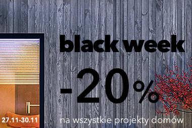 BLACK WEEK -20% na wszystkie projekty
