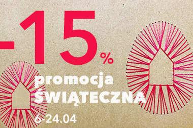 Przedłużamy promocję! 15% RABATU dla Ciebie