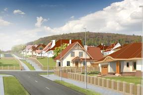 Osiedle domów jednorodzinnych w Wałbrzychu