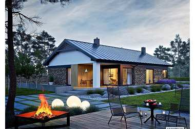 Projekty nowoczesnych domów parterowych – nasz TOP 6