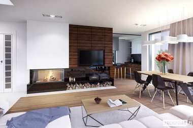 WNĘTRZA-INSPIRACJE – projekt domu Olaf G2 ENERGO PLUS – komfort w modnym wydaniu