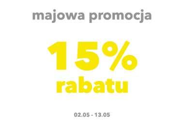 Majowa promocja - 15% RABATU na wszystkie projekty domów
