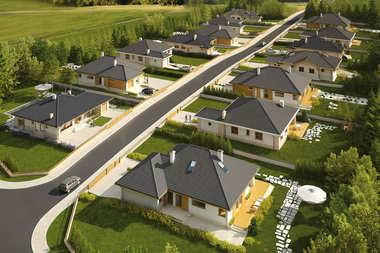 Osiedle domów jednorodzinnych w Zamościu