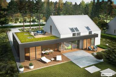 Domy z dwoma tarasami – zobacz najlepsze projekty