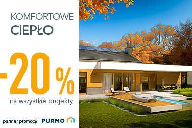 Promocja Komfortowe ciepło -20% na wszystkie projekty