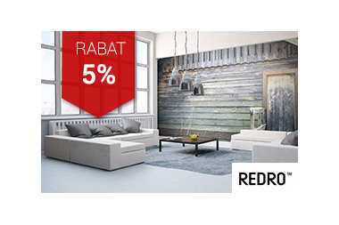 5% rabatu od Redro
