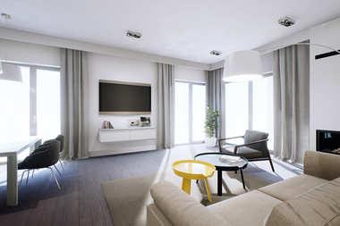 WNĘTRZA-INSPIRACJE – projekt Daniel II G1 nowoczesny dom w przytulnym klimacie
