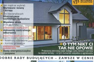 """Nasze projekty i porady w najnowszym numerze """"Budujemy Dom""""!"""