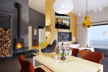 WNĘTRZA-INSPIRACJE – dom Ralf II G1 ENERGO PLUS – komfort na najwyższym poziomie