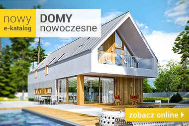 Domy nowoczesne - zobacz nowy e-katalog online