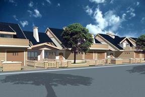Osiedle domów jednorodzinnych w Warszawie