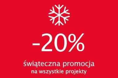 -20% na wszystkie projekty domów - zrób prezent całej rodzinie!